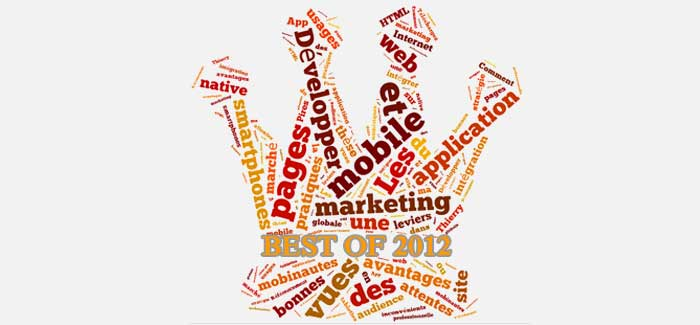 Best Of 2012 du blog marketing web mobile 2.0