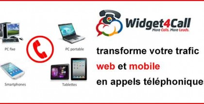 Interview Yves Weber Widget4call transforme votre trafic web et moble en appels téléphoniques