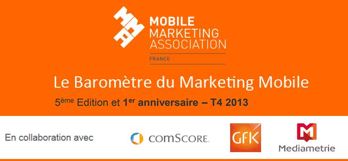 Le Baromètre du Marketing Mobile de la MMAF 4ème trimestre 2013