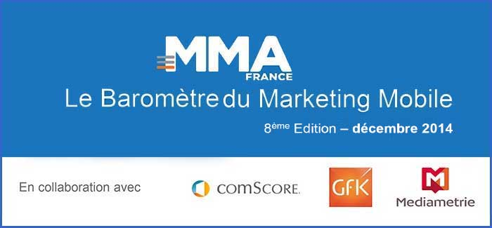 Huitième Baromètre du Marketing Mobile de la MMAF