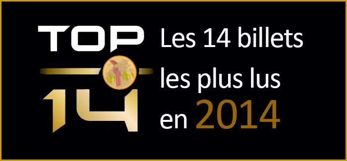 Mon Top14 des billets les plus lus en 2014 sur le blog marketing web mobile 2.0