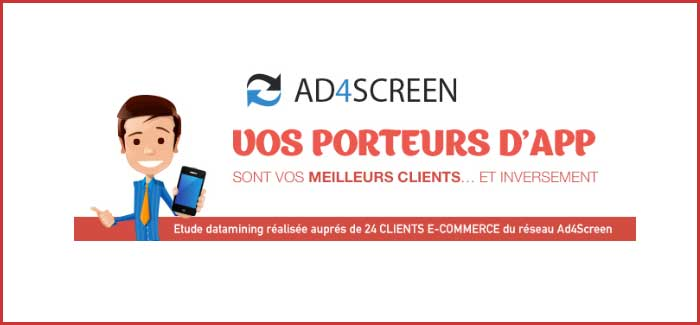 Ad4Screen démontre l'impacte business d'un porteur d'application