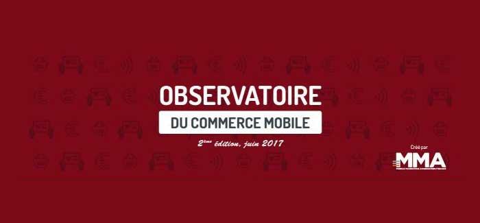 titre Observatoire Commerce mobile juin 2017